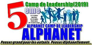 CAMP DE LEADERSHIP 2019 POUR ENFANTS