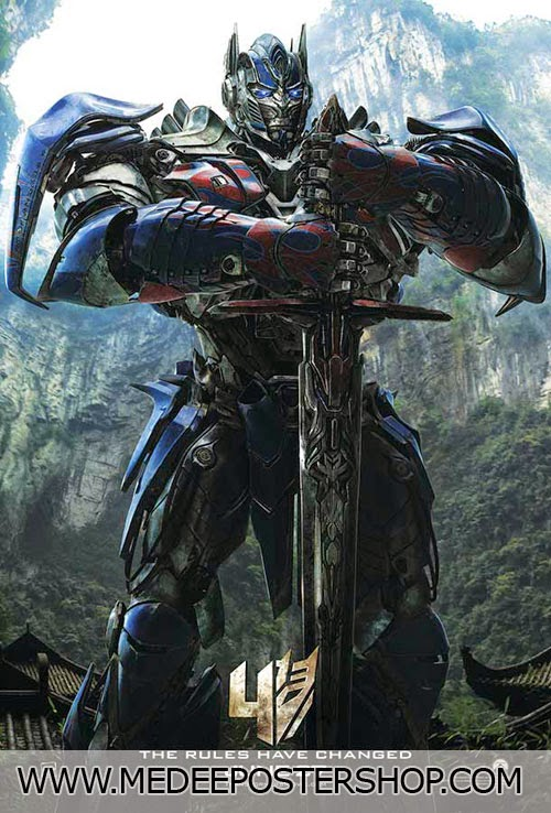 Transformers Poster Movie 2014