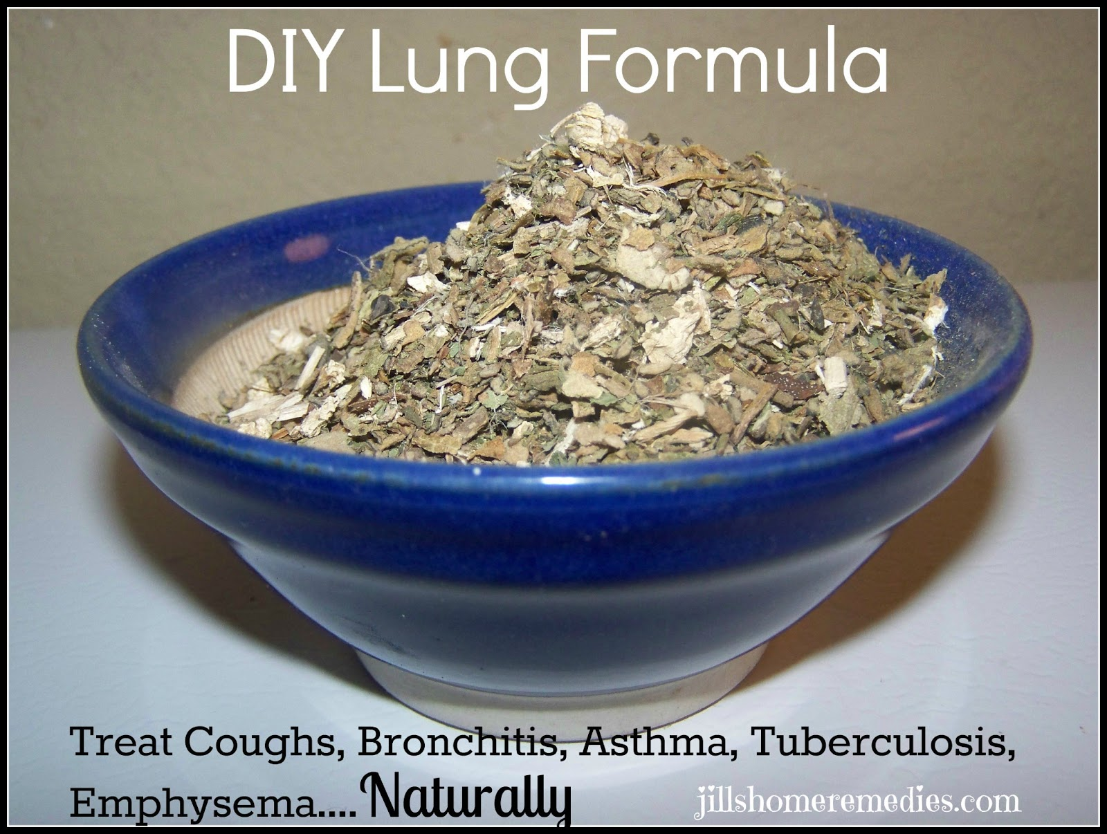 DIY Lung Formula For Coughs, Bronchitis, Asthma - Jill's