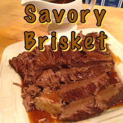 Easy Savory Brisket