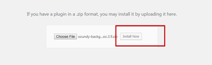 Proses install plugin