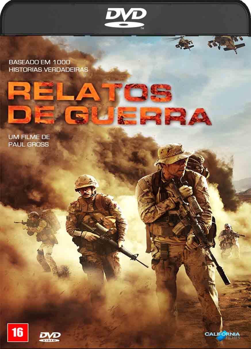 Relatos de Guerra (2016) DVD-R Oficial Dual Audio