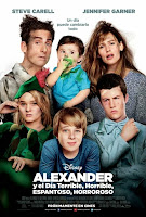 Alexander y el dia terrible, horrible, espantoso, horroroso (2014) online y gratis