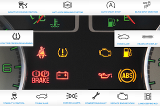 Ford Escape dashboard symbols