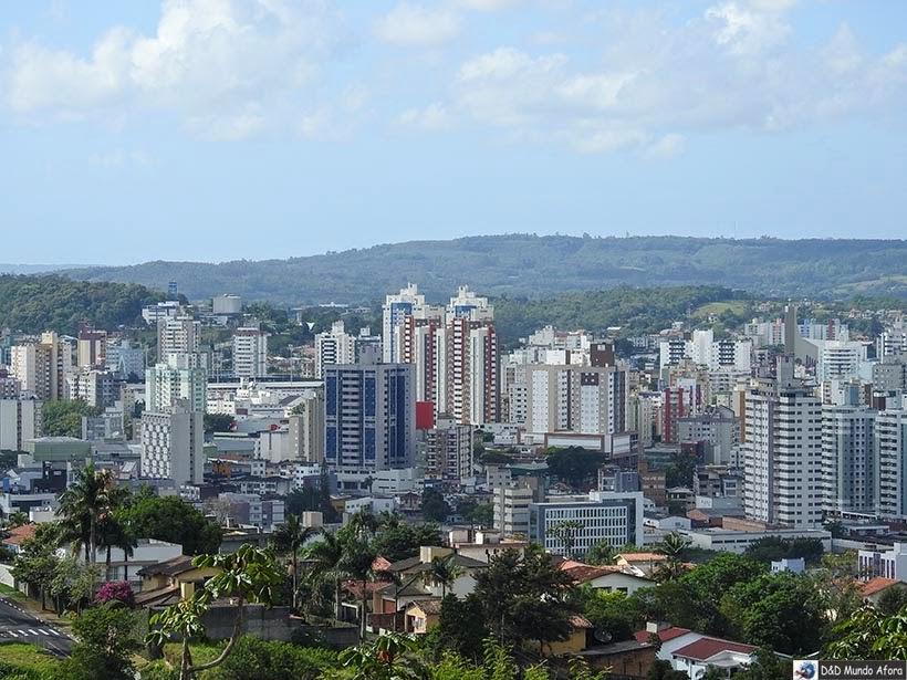 Morro Cechinel, em Criciúma -  Diário de bordo - Encontro Rota Sul em Santa Catarina