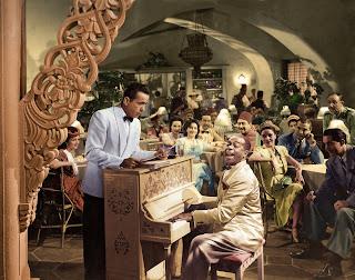 Película Casablanca a color
