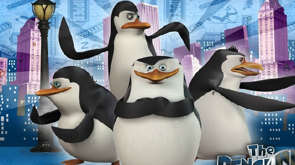 The Penguins of Madagascar Spot the Alphabet
