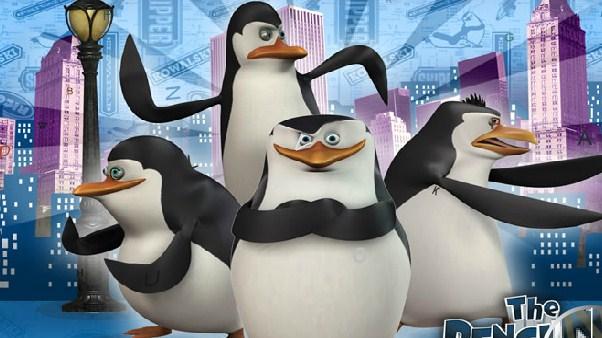 The Penguins of Madagascar Spot the Alphabet