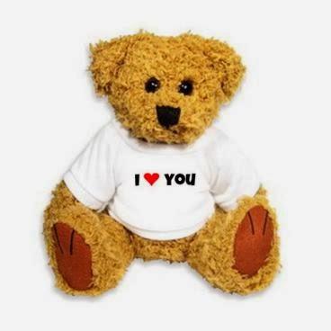 Pluszowy miś w koszulce I love you