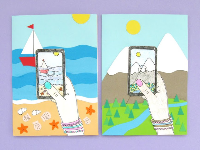 Smartphone Snaps: DIY Travel Notecards Tutorial