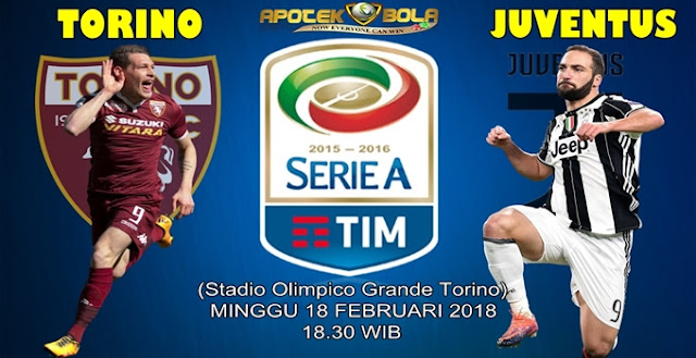 Prediksi Torino vs Juventus 18 Februari 2018