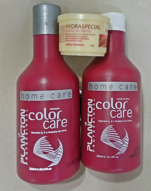 Color Care e Hydraspecial - Plâncton Professional