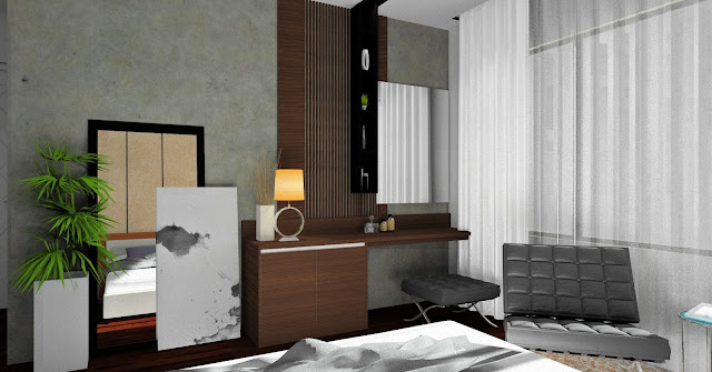 Master Bedroom design - Meridian Interior Design