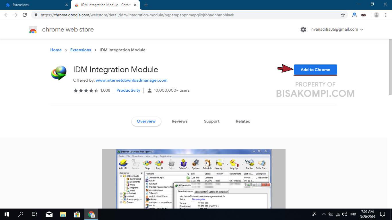 Penyebab dan Cara Mengatasi IDM Tidak Bisa Download File di Google Chrome