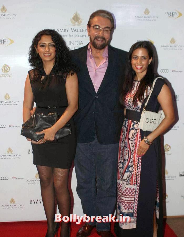 Parveen Dusanj, Kabir Bedi, Hot Celebs at India Bridal Fashion Week 2013