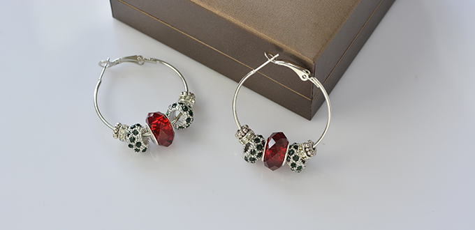 Of Handmade Hoop Earrings With You All And It Is Quite Easy For Both Professionals Green Hands To Make Hope Will Like The Diy Beads