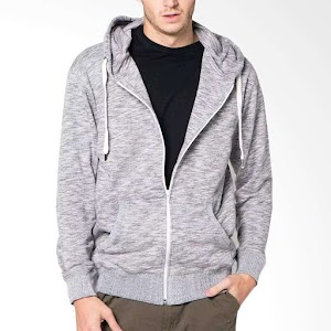 VM Hoodie Sweater Soft Grey Jaket