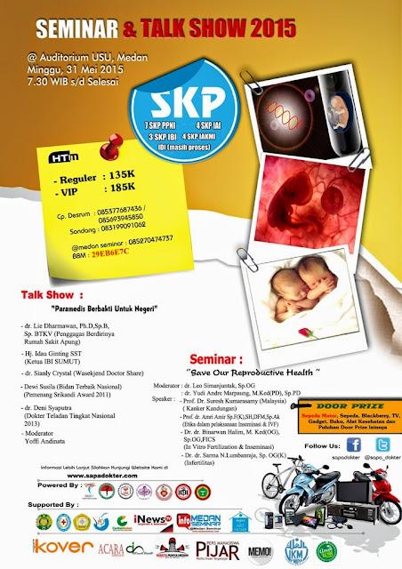 Seminar Bayi Tabung & Talkshow Para Medis Berbakti Untuk Negeri