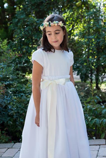 primera comunión 2017 vestidos organdí niña trajes niño coronitas invitadas