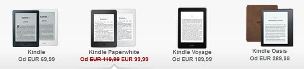 Kindle Paperwhite III przeceniony z okazji Walentynek