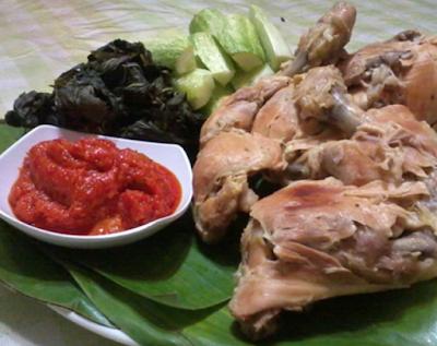Resep Ayam Pop Padang Asli Gurih Banget