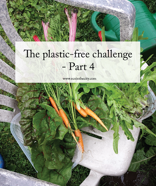Grow your own food to reduce plastic