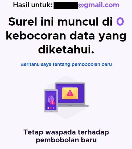 Cara Cek Apakah Email Kita Di-hack Diretas