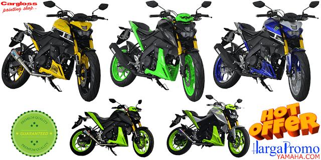 Kredit Motor Modifikasi Yamaha Xabre Custom Muffler