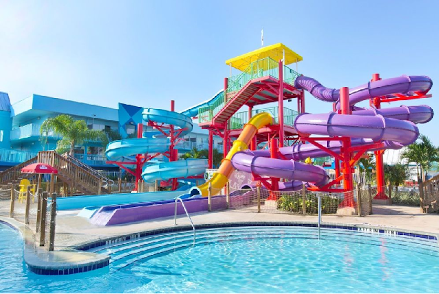 Hotel Clarion (Flamingo) Resort Waterpark em Orlando