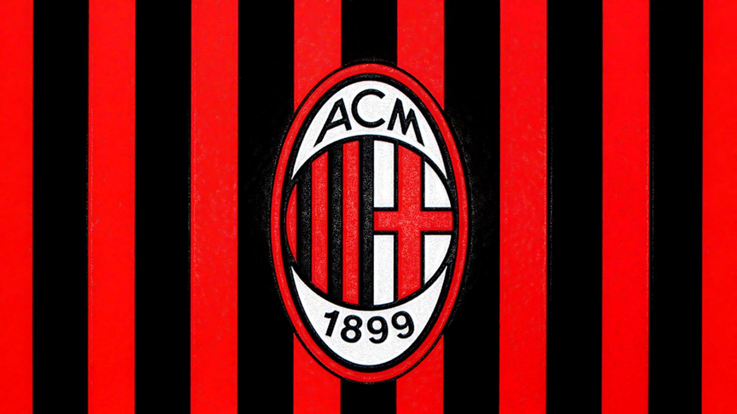 Ac Milan Black Red Wallpaper Hd Bitonarnia