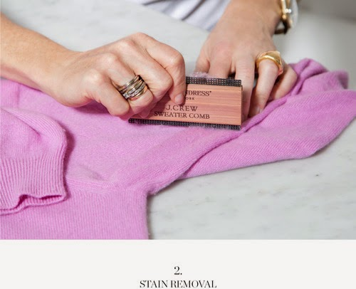 The Laundress New York For J Crew Sweater Comb Photo Courtesy Of Pinterest
