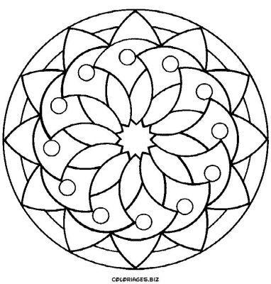 google images mandala coloring pages - photo#49
