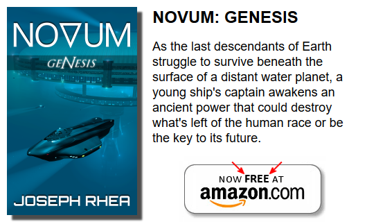 Novum genesis is now FREE on Amazon (and just 99 cents elsewhere in the world)