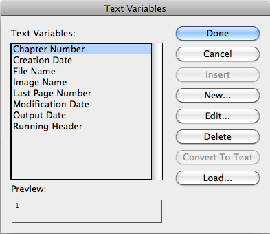 Document Geek: What To Do When InDesign Text Variables Don't