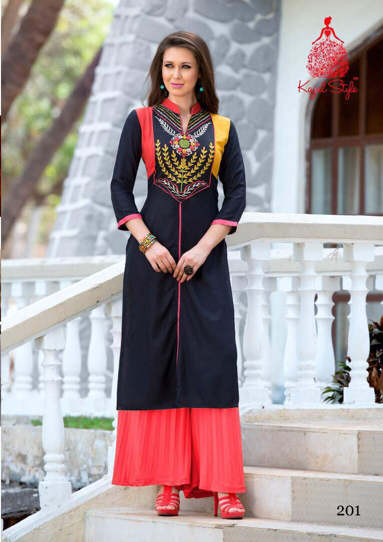 Kajal Style Bournville Vol 2 – Stylish And Fancy Kurti Wholesale
