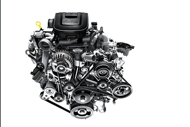 2018 Chevy Silverado Engine