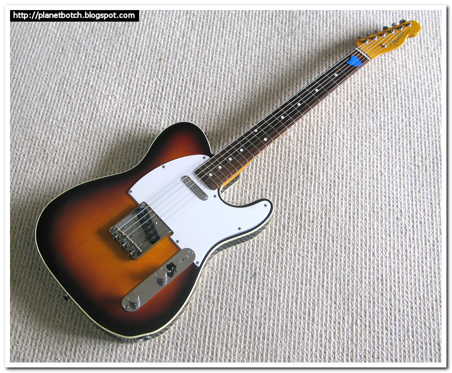 1985 fender mij 62 custom tele reissue planet botch admittedly it was a sunburst and not the candy apple red i d set out to get but there was no doubt about it this tele was an absolute killer