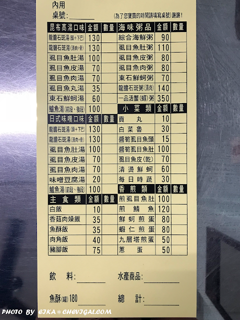 IMG 1268 - 台中烏日│勳。海鮮水產專賣店。寒流就是要來份無刺虱目魚湯暖暖身!裡頭還吃得到蝦仁、蟹肉、蚵仔超暖心!