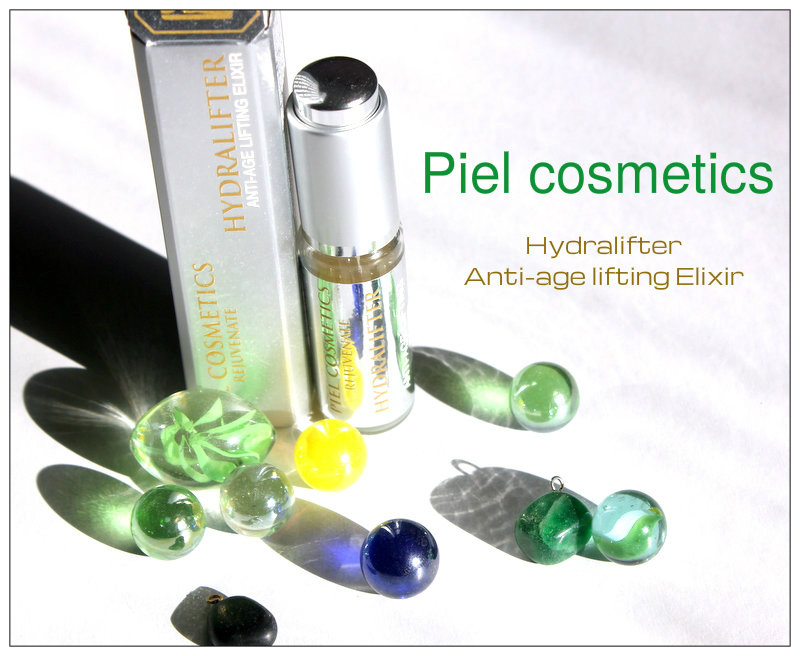 Review: Piel cosmetics: Rejuvenate Hydralifter Anti-age lifting Elixir