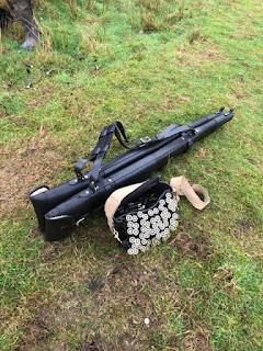 My Gun slips & cartridge case by Croots