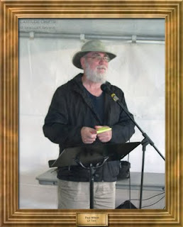 Regina writer Paul Wilson, at the Cathedral Village Arts Festival 2011