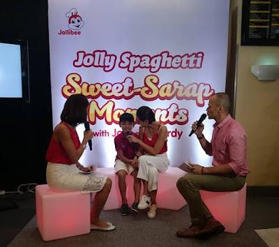 Jodi Santamaria And Son Thirdy's Jolly Spaghetti Sweet Sarap Moments