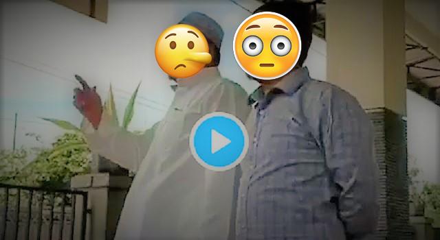 Viral Video Pria Berjubah Putih Fitnah Pemerintah Membuat UU Pelegalan Z1na