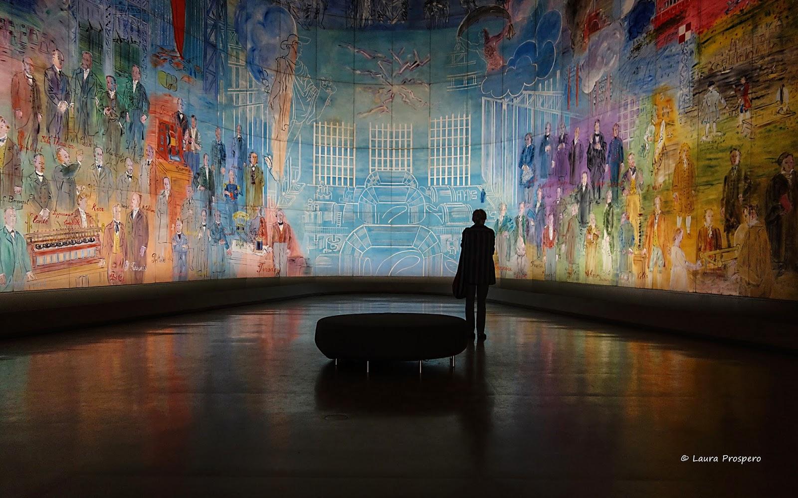 La Fée Electricité de Raoul Dufy, MAM de Paris © Laura Próspero