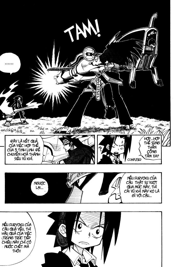 Shaman King [Vua pháp thuật] chap 30 trang 9