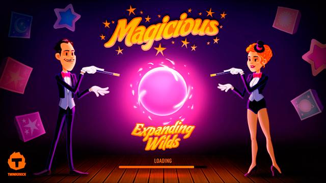 Magicious Free Slot by Thunderkick