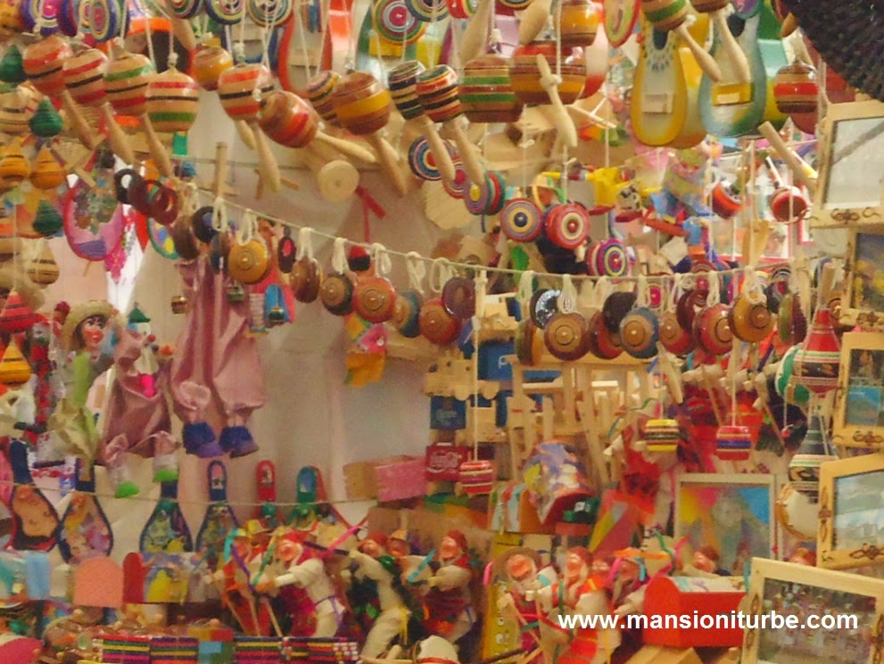 Traditional Mexican Toys in Patzcuaro