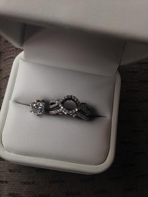 Broken Diamond Ring