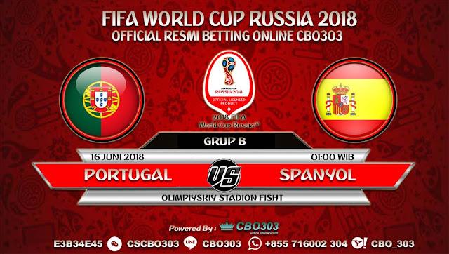 Prediksi Bola Piala Dunia 2018 Portugal VS Spanyol 16 Juni 2018 Grup B