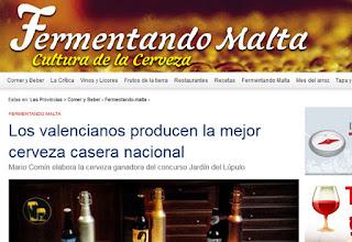 Mejor Cerveza Casera Nacional